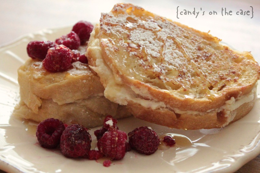 Raspberry & Ricotta French Toast